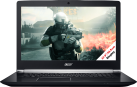 acer Aspire V17 Nitro VN7-793G-788C - Gaming-Notebook - Intel Core i7-7700HQ (2.8 GHz) - Schwarz