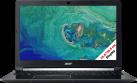 acer Aspire 7 A715-71G-70YD - Notebook - Intel® Core™ i7-7700HQ Processore (fino a 3.8 GHz, 6 MB Intel® Cache) - Nero