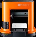 XYZprinting da Vinci Mini W - Imprimante 3D - Plateau d'impression 15 x 15 x 15 cm - Orange/Noir