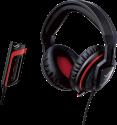 ASUS Orion Pro - Auricolare con microfono - nero/rosso