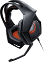 ASUS Strix DSP - Headset mit Mikrofon - Schwarz/Orange