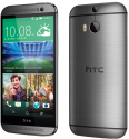 HTC One M8 Dual Sim - Android Smartphone - 16 GB - Grau