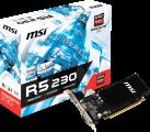MSI Radeon R5 230 2GD3H LP - Scheda grafica - 2 GB GDDR3 - Nero