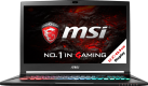 MSI GS73VR 7RF-244CH Stealth Pro - Gaming-Notebook - 17.3 / 43.9 cm - Geforce GTX 1060 - Schwarz