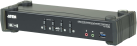 ATEN CS1924M MST KVM - KVM Switch - 4-Port USB 3.0 - Schwarz