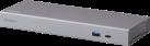 ATEN UH7230 - Dock multiporta Thunderbolt™ 3 - Con funzione di carica - Argento