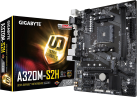 GIGABYTE GA-A320M-S2H - Scheda madre - AM4 Sockel (AMD A320) - Nero