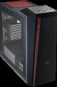 COOLER MASTER MasterBox 5t - PC-Gehäuse - Mit rote LED-Beleuchtung - Schwarz