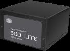 COOLER MASTER MasterWatt Lite - Alimentation - 600W - Noir