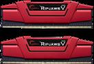 G.SKILL Ripjaws V - Mémoire vive - 2x 8 Go (DDR4 / 2400 MHz) - Rouge
