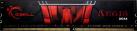 G.SKILL Aegis - Arbeitsspeicher - 8 GB (DDR4 / 2800 MHz) - Schwarz/Rot