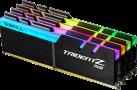 G.SKILL Trident Z RGB - Mémoire vive - 4x 8 Go (DDR4 / 3600 MHz) - Noir