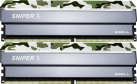 G.SKILL Sniper X - Mémoire vive - 2x 8 Go (DDR4 / 2400 MHz) - Classic Camouflage