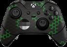 Epic Skin Xbox One Elite Controller Skin - Nano Tech Green - Verde/Noir