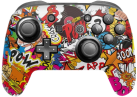 Epic Skin Nintendo Switch Pro Controller Skin - Stickerbomb Color - Mehrfarbig