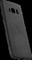 VIVERSIS Carbon Smartphone Cover - Pour Samsung Galaxy S8 - Noir