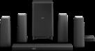 PHILIPS CSS5530B/12 - Zenit Heimkino-Lautsprecher - 5.1 - HDMI 4K-2K - Schwarz