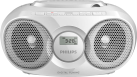 PHILIPS AZ318B/12 - CD-Player - USB - Weiss