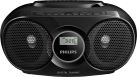 PHILIPS AZ318B/12 - CD-Player - USB - Schwarz