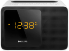 PHILIPS AJT5300W/12 - Radiowecker - Bluetooth - Schwarz