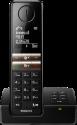 PHILIPS D4651B/01 - Telefono fisso senza fili - Schermo 4.6 cm - Nero