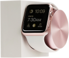 NATIVE UNION Apple Watch Dock - Stazione di carico - Bianco/Oro rosa