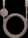 NATIVE UNION Night Cable - Lightning Kabel - 3 m - Hellbraun