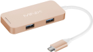 MINIX NEO C MINI USB-C Multi-Port Adapter, Gold