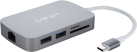 Minix NEO-C Multiport Adapter, grigio