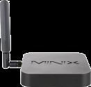 MINIX NEO Z83-4 Pro - PC -  Intel® Atom™ x5-Z8300 Prozessor - Schwarz