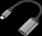 MINIX NEO C-HD USB-C zu 4K HDMI Adapter - 60 Hz - Space grau