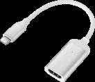 MINIX NEO C-HD USB-C zu 4K HDMI Adapter - 60 Hz - Silber
