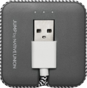 NATIVE UNION Jump Cable - Micro-USB Kabel - Grau