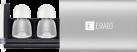 ERATO Apollo 7 - In-Ear Kopfhörer - Bluetooth - Silber