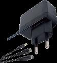 PIRANHA PI397008 - Universal Ladegerät - Für 3DS/Dsi/DS lite/New 3DS/ PSP - Schwarz