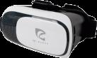 PIRANHA PI397371 - Virtual-Reality-Brille - Für Android Smartphones und iphones - Weiss/Schwarz