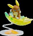 Takara Pikachu Pokemon Moncolle - Alola Raichu - Figurine - Multicolore