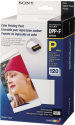 SONY SVM-F120P Color Print Pack - Papier photo set - Pour DPP-FP Serie - Blanc