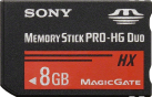 SONY MS-HX8B - Carte mémoire flash - 8 Go - Noir
