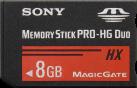 SONY MS-HX8B - Flash-Speicherkarte - 8 GB - Schwarz