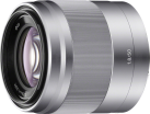 SONY SEL50F18, argento