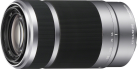 SONY SEL55210, argenté