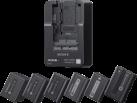 SONY BC-QM1 - Caricabatterie -  Multi - Nero