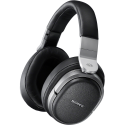 SONY MDR HW700DS - Cuffie senza fili Over-Ear - Audio surround virtuale a 9.1 canali - Nero/Argento