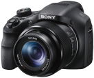 SONY Cyber-shot DSC-HX300 - Digitalkamera - 20.4 MP - Schwarz