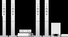 SONY BDV-N9200WB, bianco