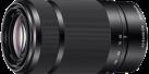 Sony SEL55210, noir