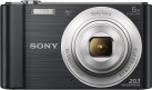SONY Cyber-shot DSC-W810 - Fotocamera digitale - 20.1 MP - nero