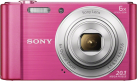 SONY Cyber-shot DSC-W810 - Fotocamera digitale - 20.1 MP - rosa
