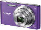 SONY Cyber-shot DSC-W830 - Fotocamera digitale - 20.1 MP - viola